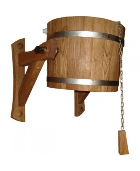 Træ spand - bruser 20l
