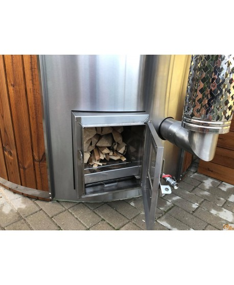 Rustfrit stål integreret komfur