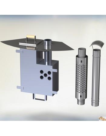 KL al-60 [10,6 KW] intern aluminium komfur