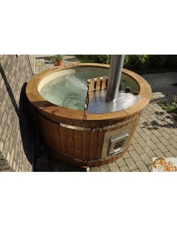 Spabad med integreret ovn 1,8 m, 5-6 personer